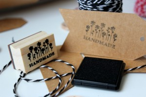 Stempel Hand Made Kwiaty